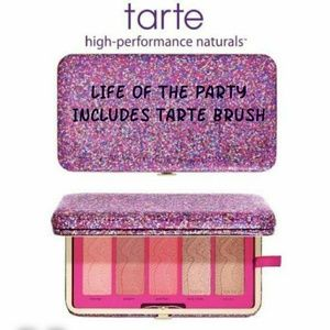 🔥FLASH$30🔥Tarte Life of Party Blush Clutch/Brush